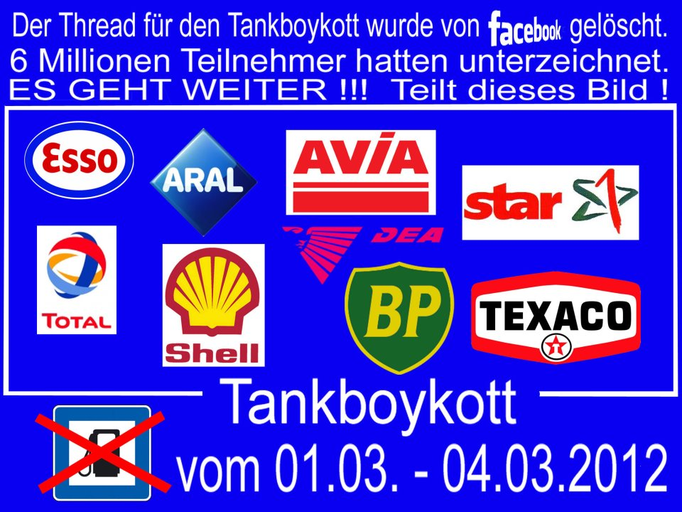 Tankstellenboykott