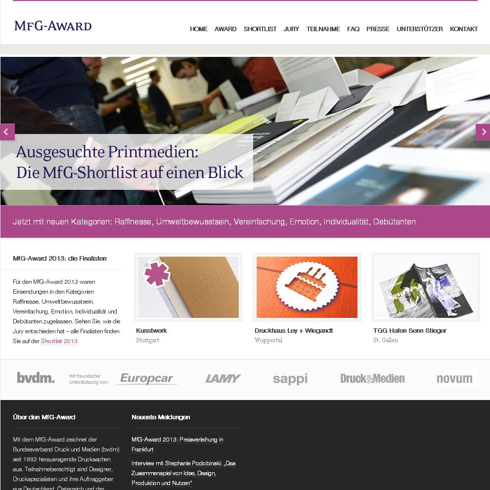MFG-Award.de