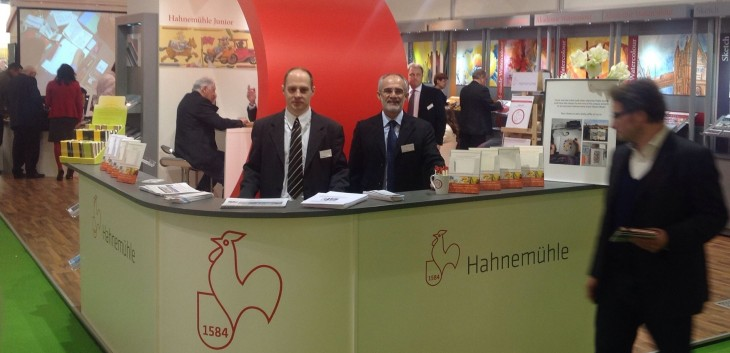 Hahnemühle Stand Creativeworld 2014