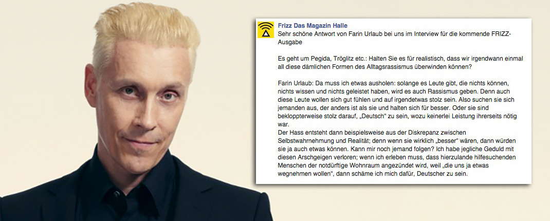 Farin Urlaub (Interview Frizz)